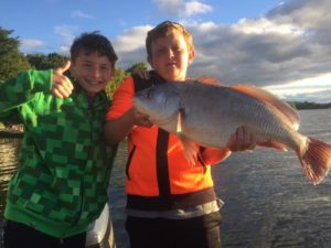 Ty & Owen catch a sheepshead