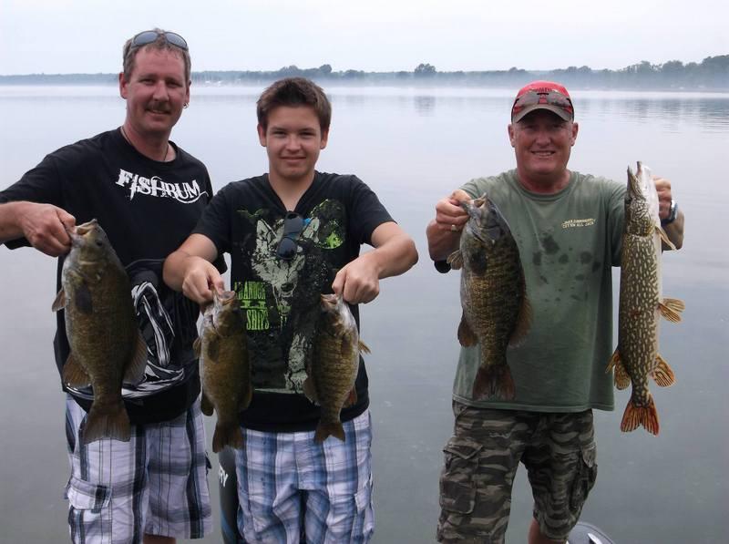 Dean, son & Kev