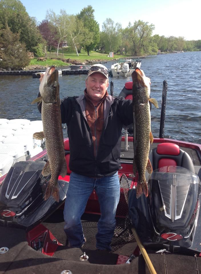 Kev with Pike